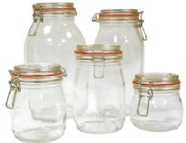 Canning Jar 0.5 Litres Plus Lid And Clasp